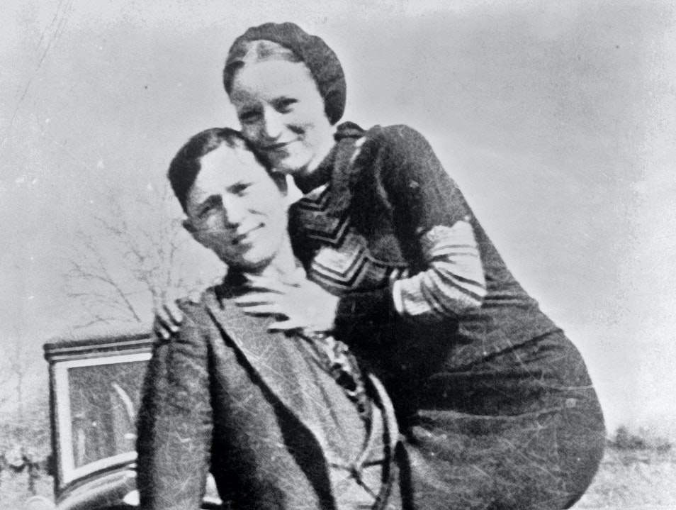 Bonnie without Clyde Rowena Texas United States