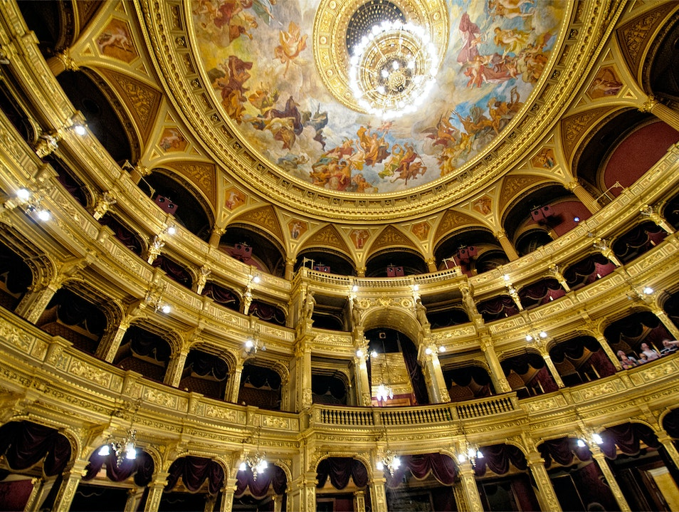 Art and History Collide at the Hungarian State Opera in Budapest