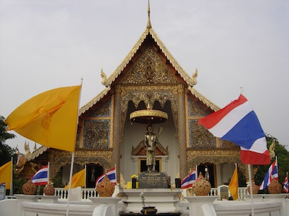 Wat Phra Singh Mueang Chiang Mai  Thailand