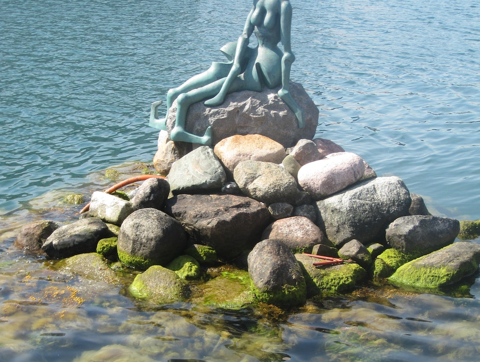 Copenhagen's Alternative Mermaid Copenhagen  Denmark