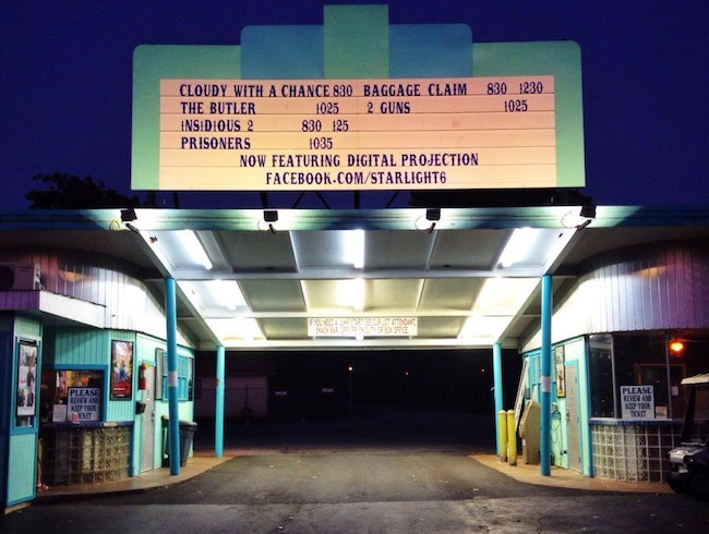 Get a Blast from the Past at Starlight Drive-In Theatre