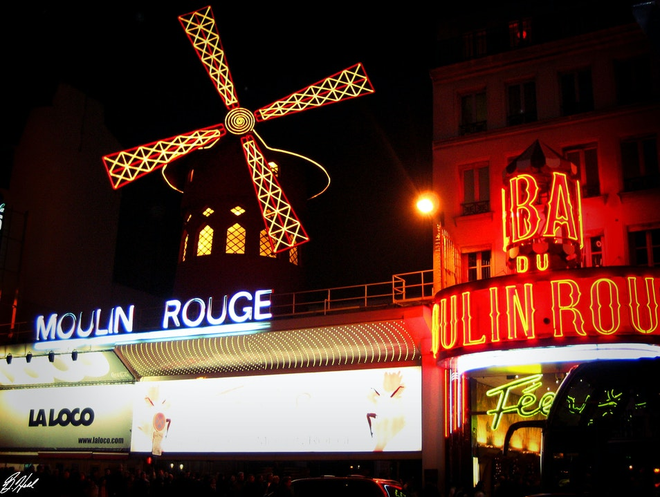Moulin Rouge Nights Paris  France