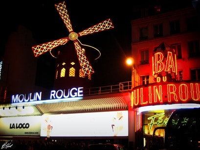 Bal du Moulin Rouge Paris  France