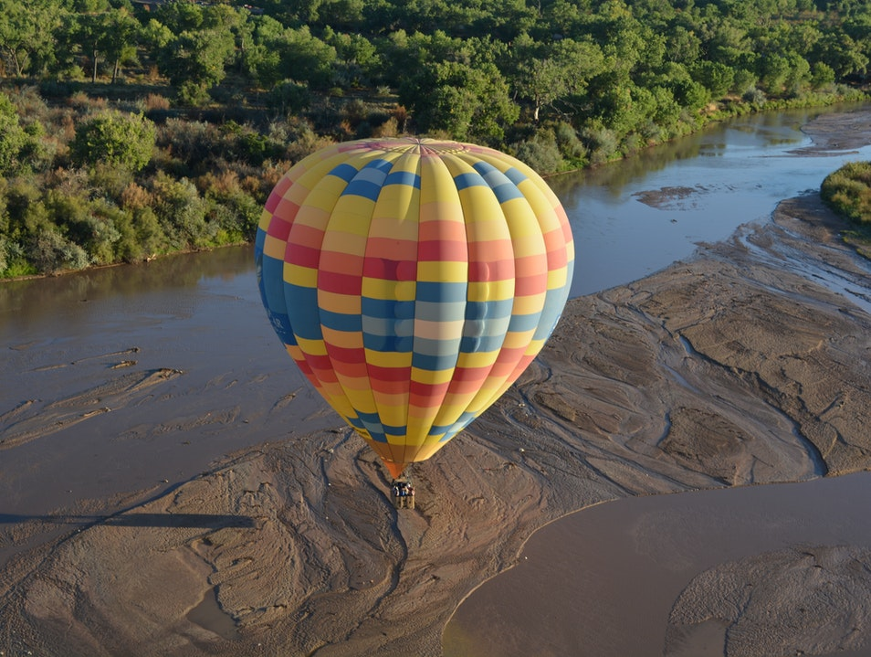 Hot Air Ballooning after 4 hours sleep