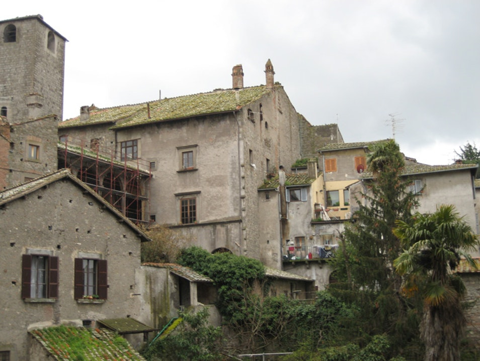 A former Papal refuge in northern Lazio Viterbo  Italy