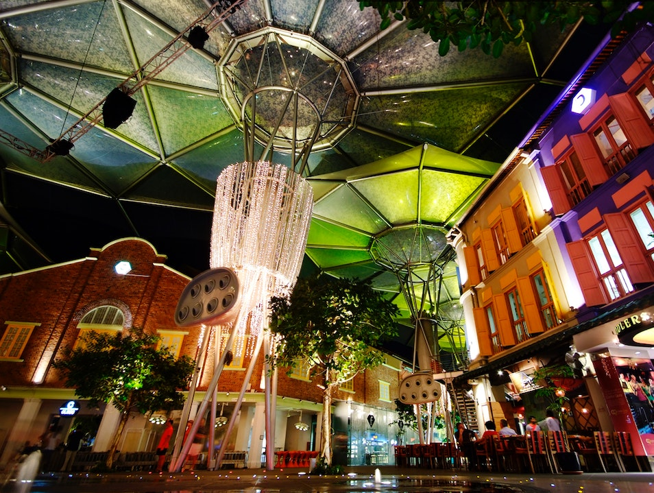 Singapore Sheds Its Inhibitions After Dark