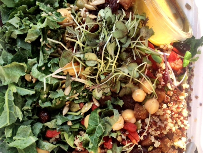 Organic and Raw Food in the Annex