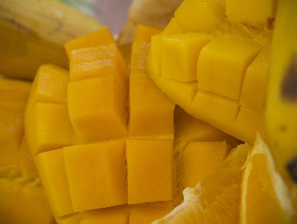 Yummiest Yellow Mangoes in the World Quezon City  Philippines