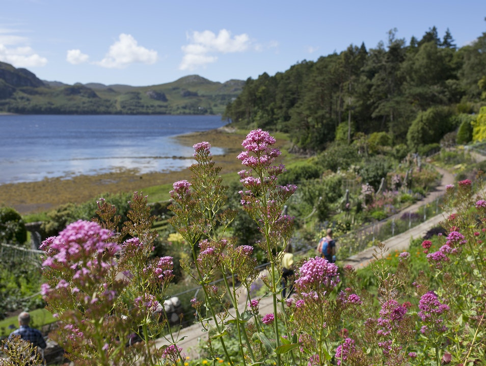 Inverewe Garden Poolewe  United Kingdom