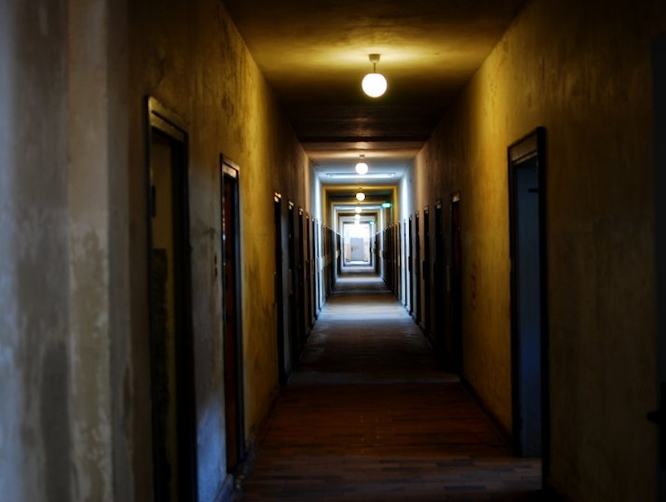 Visiting a Nazi Concentration Camp Dachau  Germany
