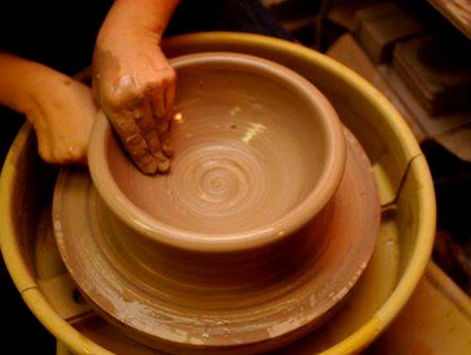 Artisan crafts at Annapolis Pottery Annapolis Maryland United States