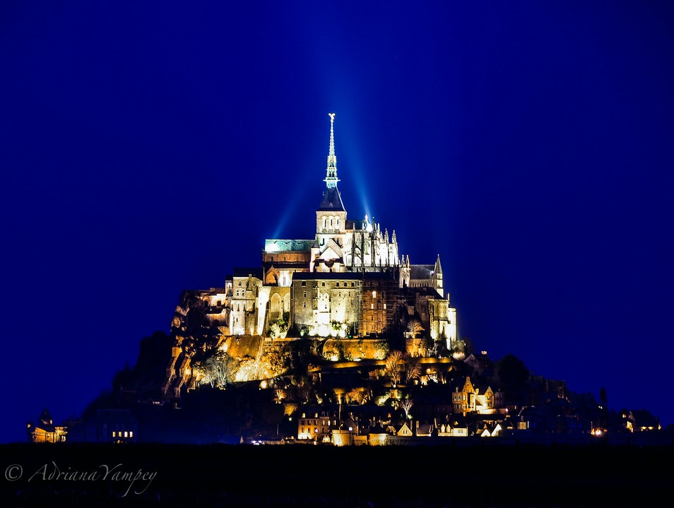 Mesmerized by architectural beauty Le Mont-Saint-Michel  France