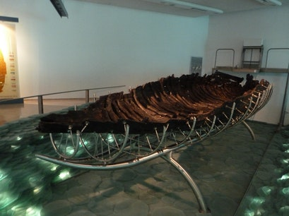 "The Yigal Allon Center - The ""Jesus boat"" Museum Ginosar  Israel"