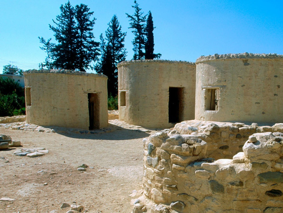 Lefkara and Chirokoitia Neolithic Settlement Paphos  Cyprus