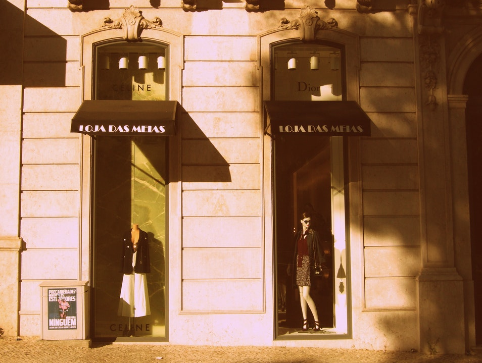 A centennial shop always in fashion Lisboa  Portugal