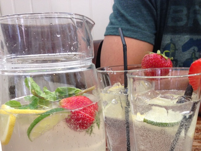 An Afternoon Fruit Spritzer
