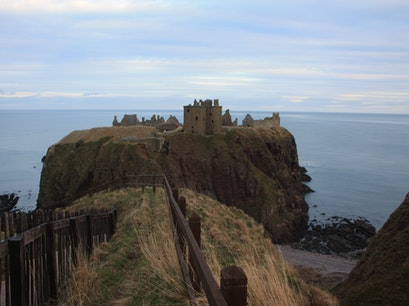 Dunnottar Castle Aberdeenshire  United Kingdom