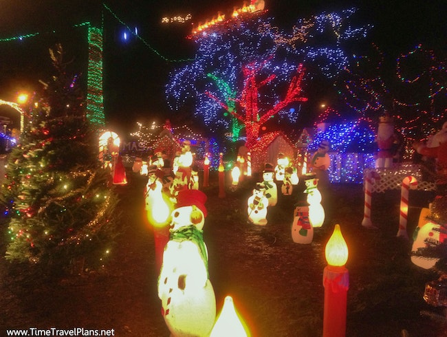 All of the Lights at Bright Nights in Stanley Park