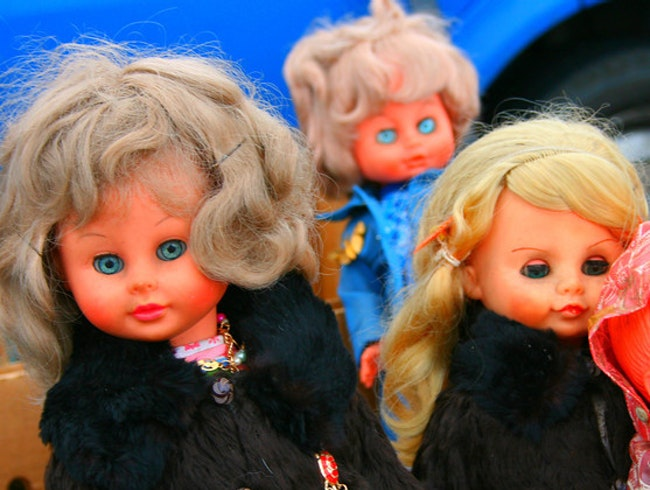 More 'freaky' dolls