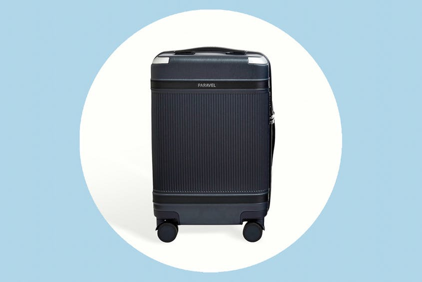 The Aviator Carry-On Plus is available in eight colors, including Scuba Navy seen here.