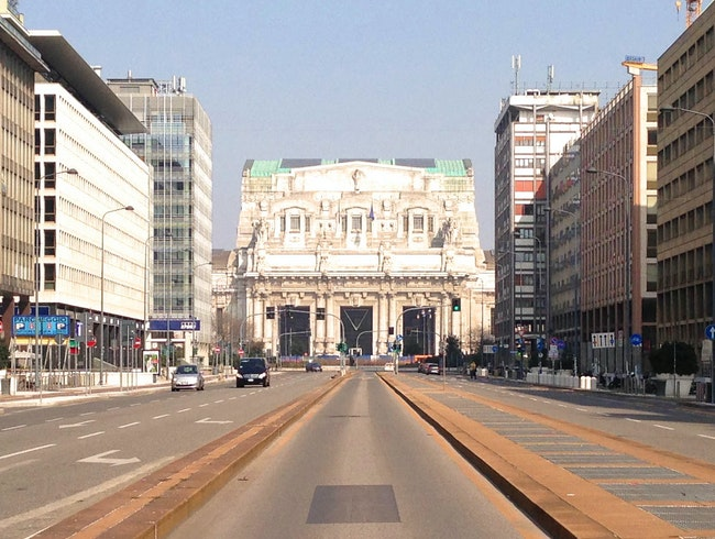 Around Milan's Stazione Centrale