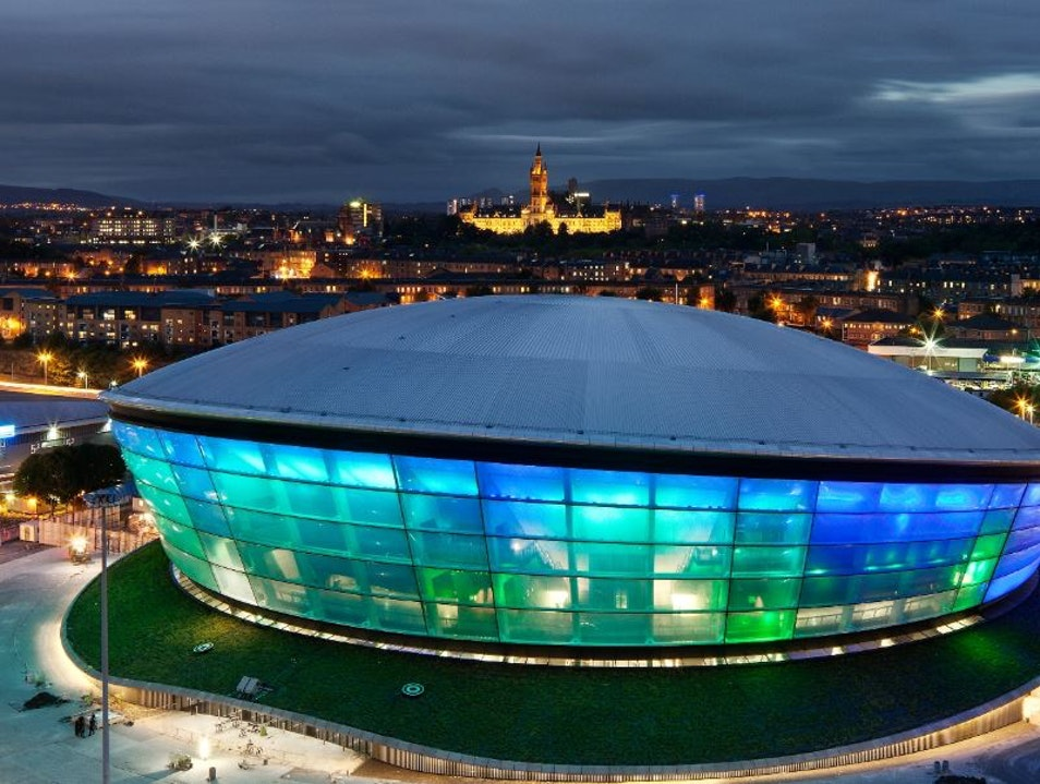 Glasgow's Space-Ace Arena Glasgow  United Kingdom