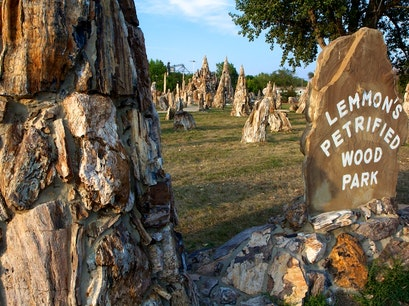 Petrified Wood Park & Museum Lemmon South Dakota United States