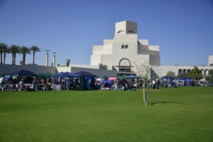 Museum of Islamic Art Park Bazaar
