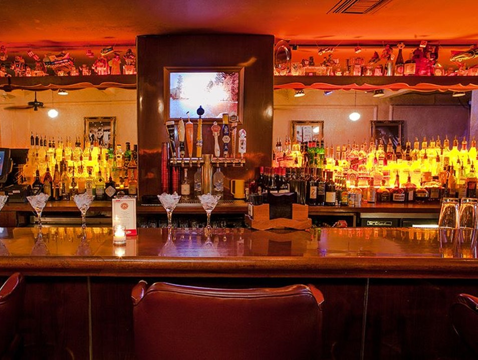Swanky Mid-Century Bar in Southie