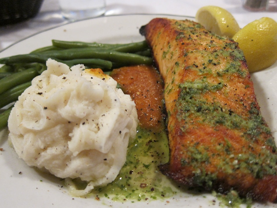 Grilled Salmon New York New York United States