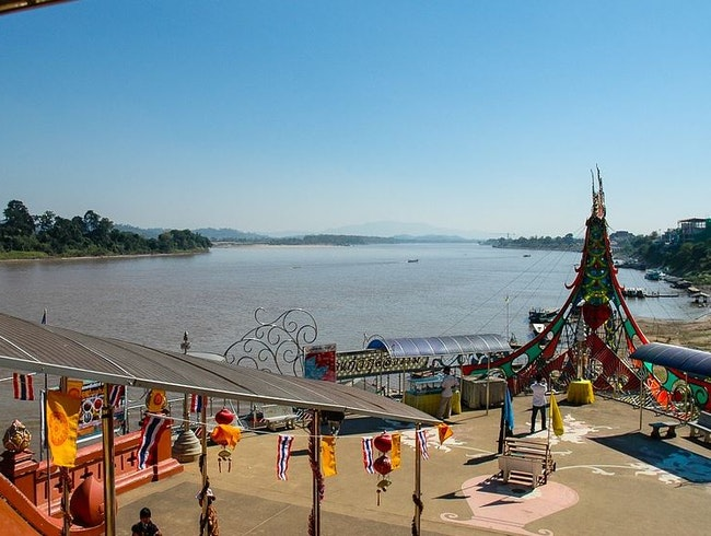 River Cruising on Mekong
