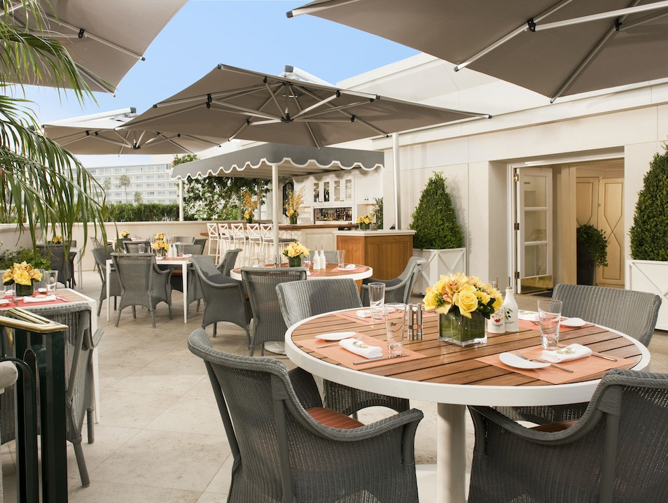 Roof Garden Beverly Hills California United States