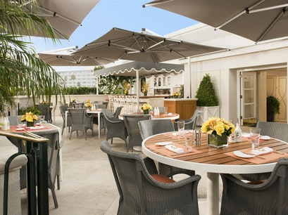 The Roof Garden at The Peninsula Beverly Hills California United States