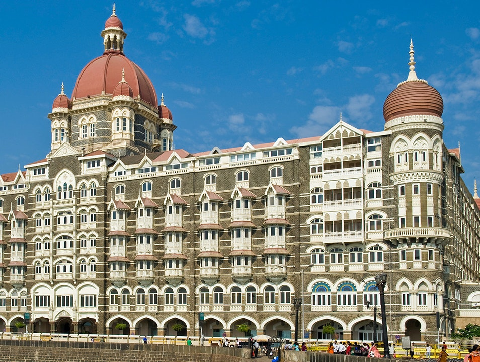 The Taj Mahal Palace Mumbai  India