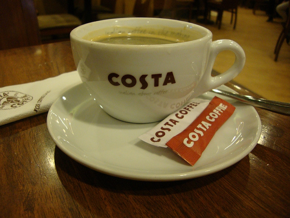 Foreign Meets Familiar at Costa Coffee New Delhi  India