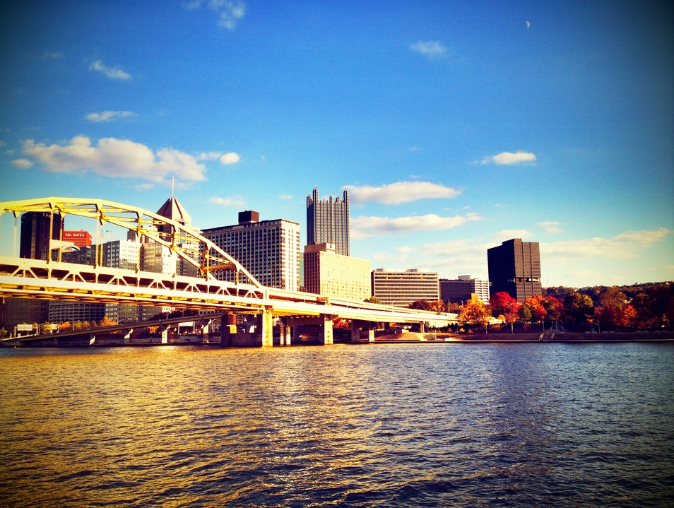 Biking and Walking Trail in Pittsburgh Pittsburgh Pennsylvania United States