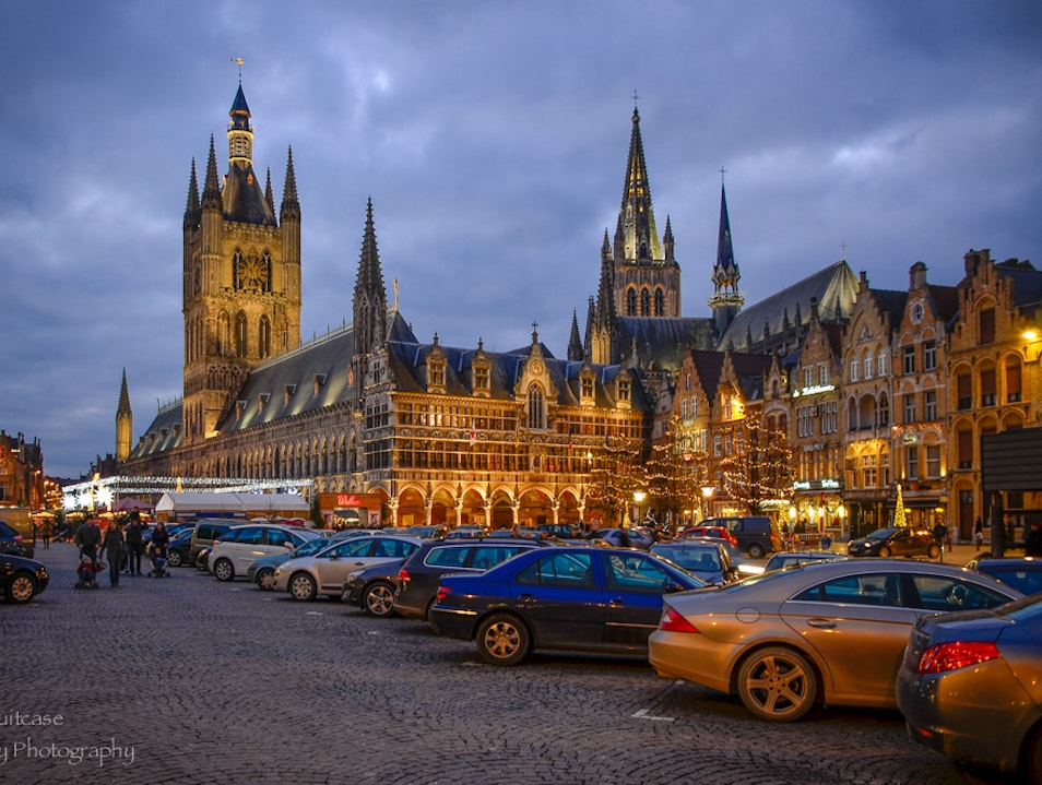 Visiting Ypres in winter