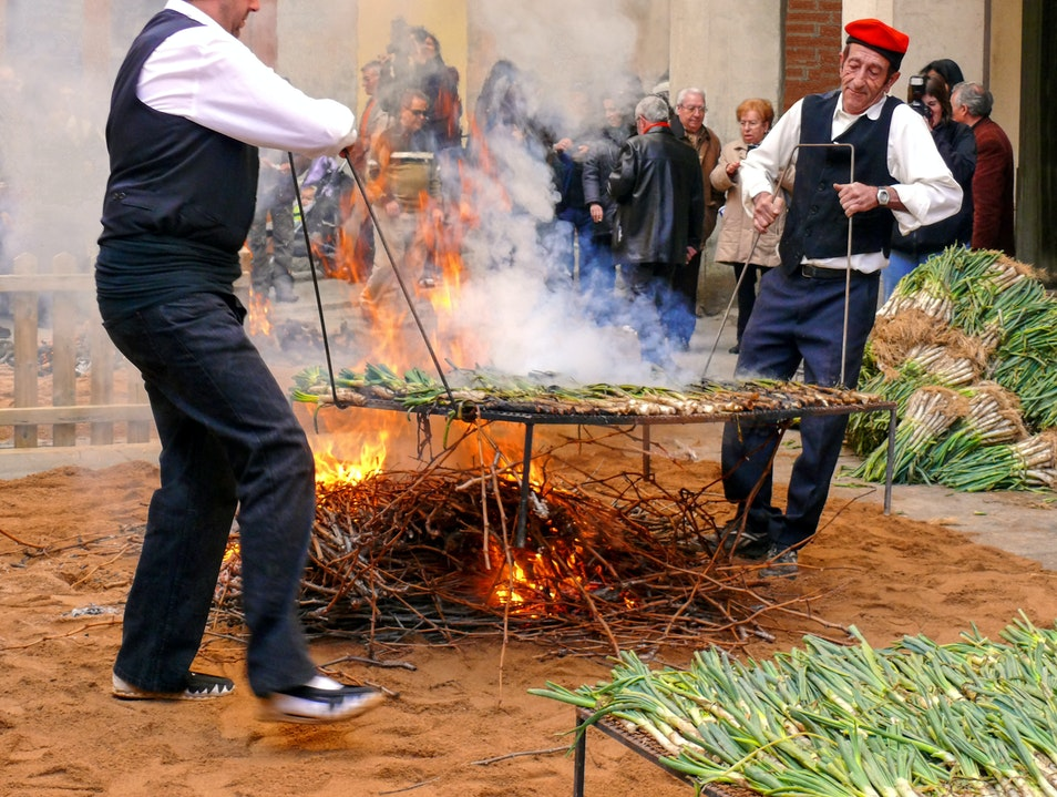Take Part in a Catalan Barbecue Tarragona  Spain