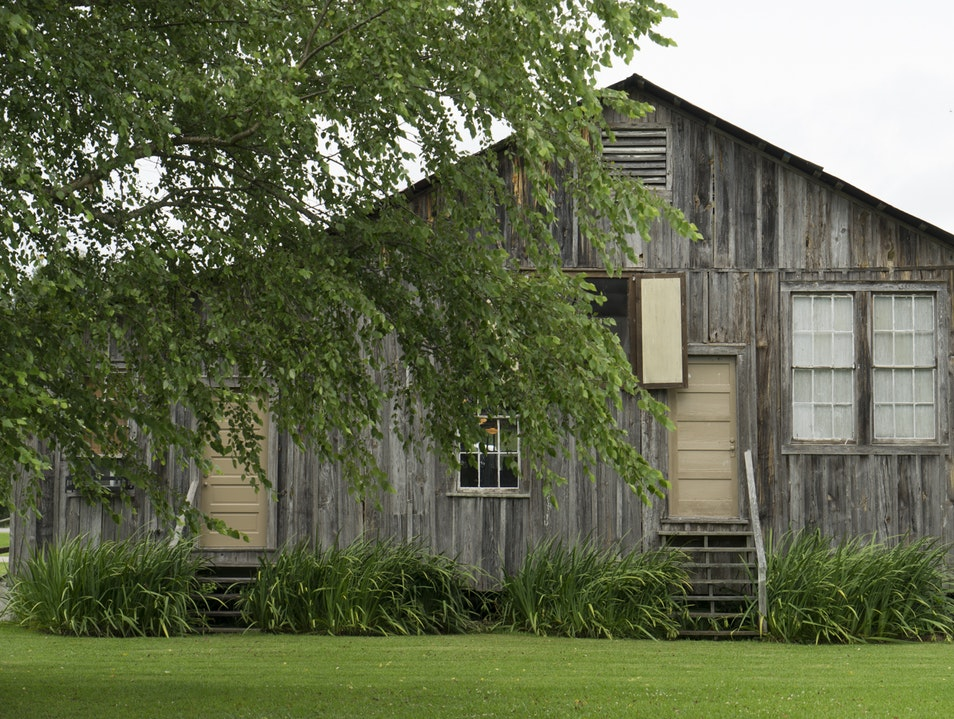 Cotton Plantation Visit - the Real Deal Ferriday Louisiana United States