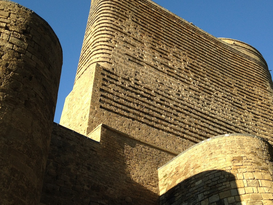 Go back in time at Maiden Tower Baku  Azerbaijan