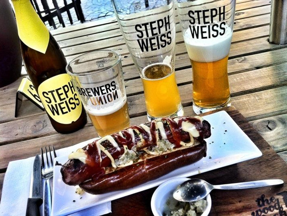 Craft Beer and Brats in Cape Town