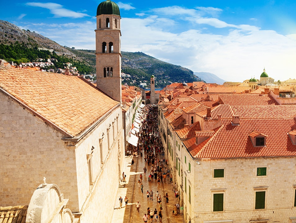 Old Town of Dubrovnik Dubrovnik  Croatia