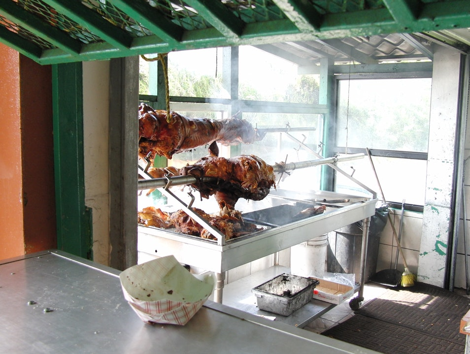 A Whole Pig, A Local Feast Cayey  Puerto Rico