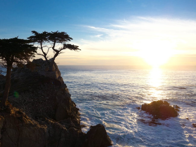 Edge of America: Sunset at Pacific Grove