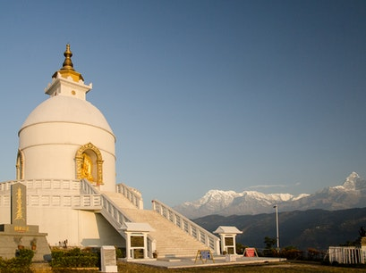 World Peace Pagoda Pumdi Bhumdi  Nepal
