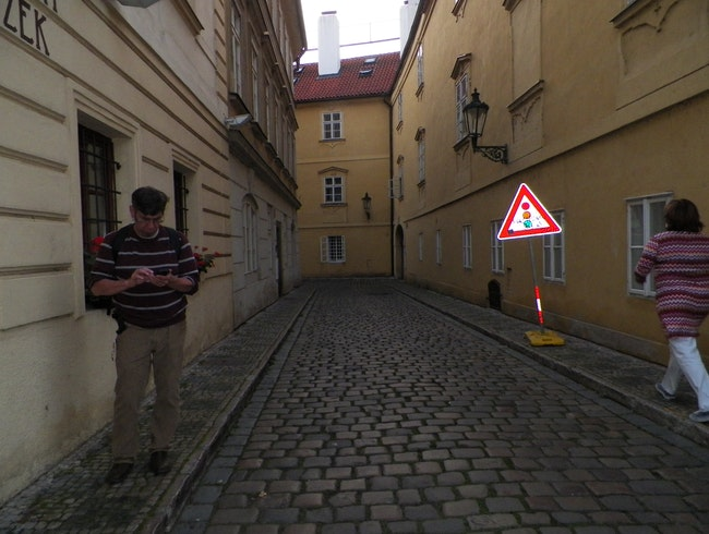 Getting Lost in Praha (yet again)