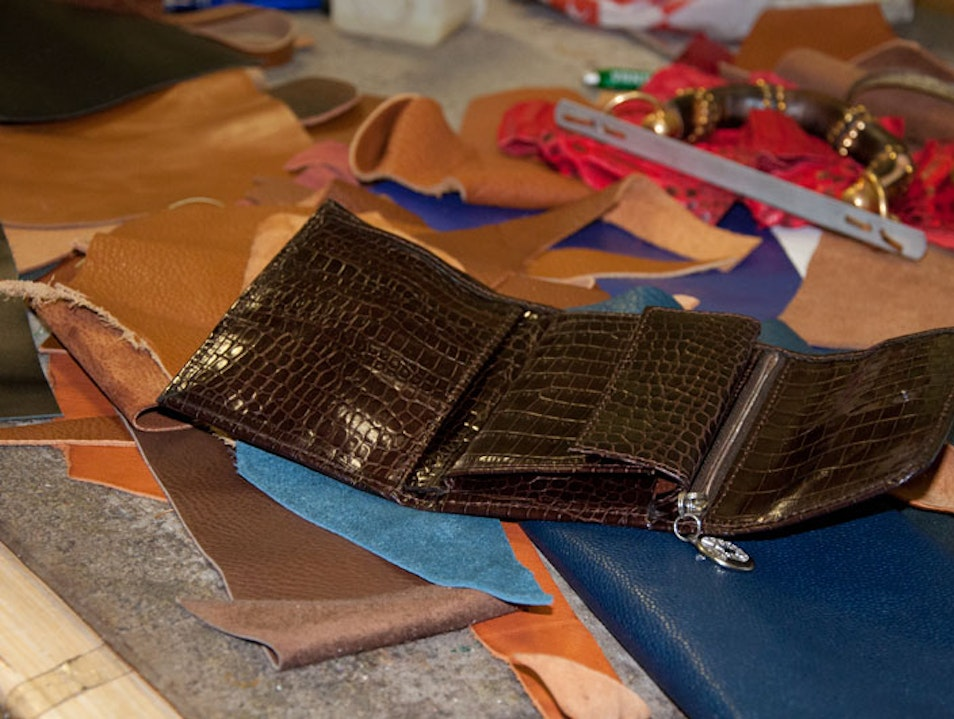 Armando Rioda, a Leather Workshop in the Heart of Rome Rome  Italy