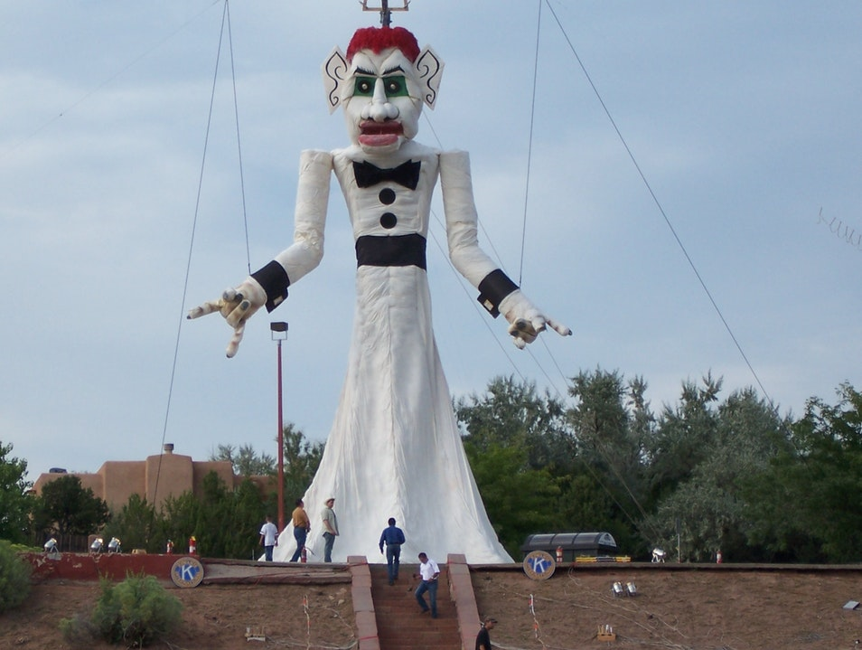 Burning Zozobra: Goodbye to Old Man Gloom Santa Fe New Mexico United States
