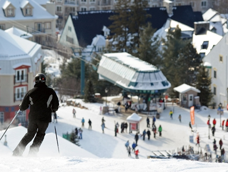 Ski and boarding Mont Tremblant  Canada