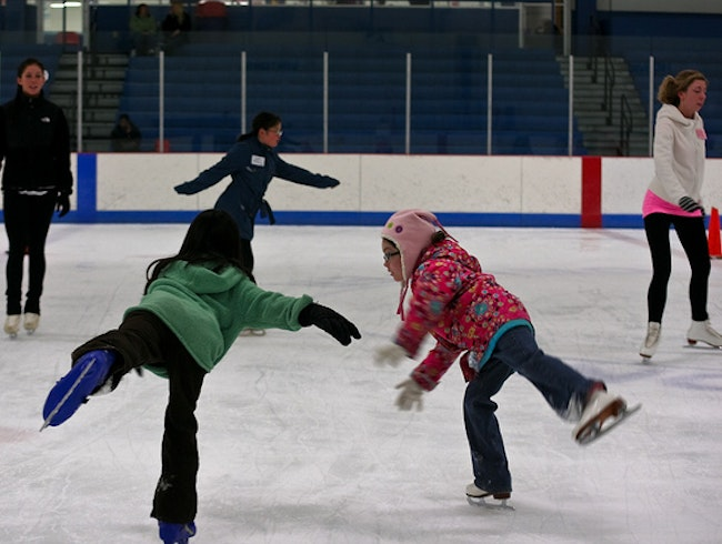 Get Your Skates on at the Ice Centre